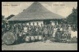 LOURENÇO MARQUES - MUSICA - Orchestra Indigena. Carte Postale - Mozambique