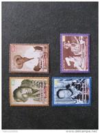 Polynésie: TB Série N° 638 Au N° 641 ,neufs XX . - Polynésie Française