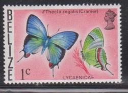 BELIZE Scott # 346 MNH - Butterfly - Belize (1973-...)