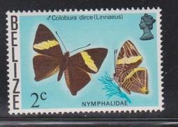 BELIZE Scott # 347 MNH - Butterfly - Belize (1973-...)