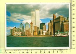 CPM, ETATS-UNIS, NEW-YORK-CITY: Manhattan, The Twin Towers Of World Trade Center - World Trade Center