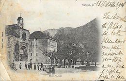 Nantua (Ain) - Place D'Armes - Photo Laloge - Carte Précurseur - Nantua