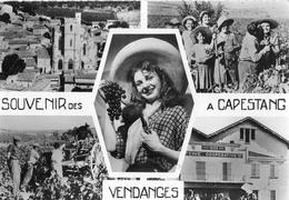 SOUVENIR DES VENDAGNES A CAPESTANG (MULTIVUES) - Capestang