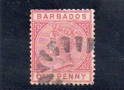BARBADE 1882-6 O - Barbados (...-1966)