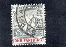 BARBADE 1904 O - Barbados (...-1966)