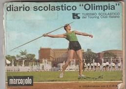 6319. Lp   Diario Scolastico Olimpia TCI In Collaborazione C.O.N.I Marcopolo - Vecchi Documenti