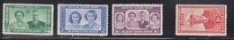 BASUTOLAND Scott # 35-8 MH - Royal Visit - 1933-1964 Colonia Britannica