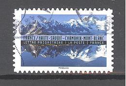 France Autoadhésif Oblitéré (Reflets, Paysages Du Monde : France Haute-Savoie) (cachet Rond) - France