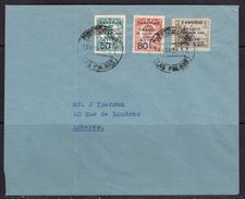 España 1938. Canarias. Carta De Las Palmas A Amberes. Censura. - Marcas De Censura Nacional
