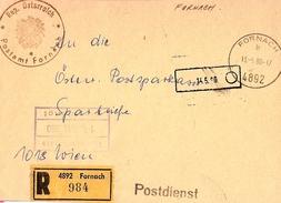 Austria Official R-letter Front Fornach ... AH642 - 1945-.... 2nd Republic