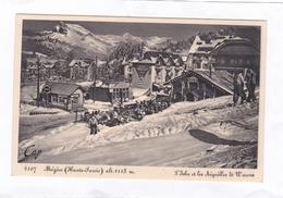 2107  Megève  (Haute-Savoie)  Alt. 1113 M.   -  L'Isba  Et  Les  Aiguilles  De  Warens. - Megève