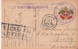 Italie Carte Militaire Illustrée 1916 - 1900-44 Vittorio Emanuele III