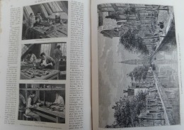 TOUR DU MONDE 1878:NEERLANDE-AMSTERDAM/ACADEMIE BEAUX-ARTS/SOCIETE ZOOLOGIQUE/PARC VONDEL/POLISSAGE DU DIAMANT/QUAI GROE - Zeitschriften - Vor 1900
