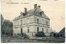 - PLESSIS - GRAMMOIRE - ( Maine Et Loire ), Cour St-Maurice, épaisse, écrite, 1907, TBE, Scans. - Autres Communes