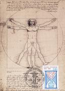 Carte-Maximum FRANCE N° Yvert 2936 (COMITES D'ENTREPRISE) Obl Sp Ill 1er Jour (Ed Graphique De France - VINCI) - Cartoline Maximum