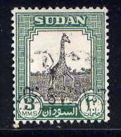 SOUDAN - 98° - GIRAFE - Soudan (1954-...)