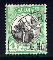 SOUDAN - 99° - JEUNE FILLE BAGGARA - Soudan (1954-...)