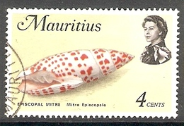 002382 Mauritius 1972 4c FU - Mauritius (1968-...)