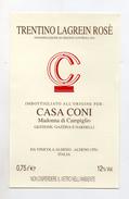 Lagrein Rosè Trentino - Imbottigliato Per Casa Coni Di Madonna Di Campiglio - Vinicola Aldeno (Trento) - (FDC4101) - Vino Rosato
