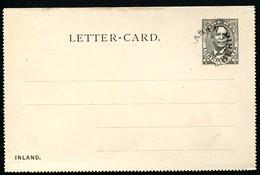 LIBERIA Letter Card #A1 Postmark BUCHANAN - Liberia