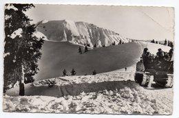 MEGEVE--1961--Panorama Sur Le Mont Joly,vue Prise Depuis L'Alpette(animée Sur La Droite) ,cpsm 14 X 9  N° 1749  éd  CAP. - Megève