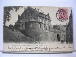 59 - CAMBRAI - L'HOPITAL MILITAIRE ET LA PORTE DE SELLES - ANIMEE - DOS SIMPLE - 1904 - Cambrai