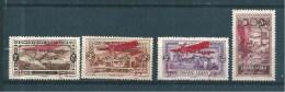 Colonie PA Du  Grand Liban Timbre De  1926  N°17 A 20  Neufs * ( Cote 44€ ) - Airmail