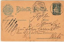 Postal Stationery * Portugal * Guarda * 1917 * Antonio José Polycarpo - Entiers Postaux