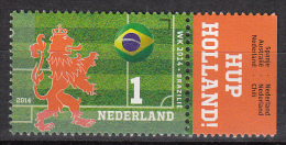 Nederland - Oranje Op Het WK-Voetbal - WK 2014 - Brazilië - MNH/postfris - NVPH 3196b - Periode 2013-... (Willem-Alexander)