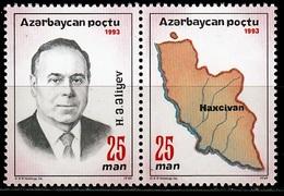 Azerbeidzjan Mi 105,106 Postfris M.n.h. - Azerbeidzjan