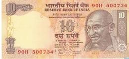 Billet Banque  INDIA  10 RUPEES - India