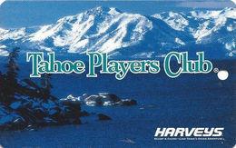Harvey's Resort Hotel/Casino Great Adventure - Lake Tahoe, NV - BLank Slot Card - No Text Over Mag Stripe - Casino Cards