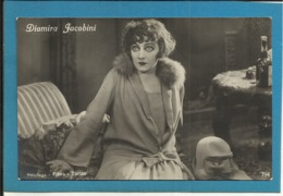 Diomira Jacobini - Piccolo Formato  - Non Viaggiata - Attori