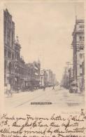 Dallas Texas, Main Street Scene, Wagons Bicycle, C1900s Vintage Albetype Co. Postcard - Dallas