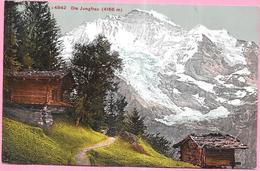SUISSE - CPA COLORISEE -  DIE JUNGFRAU  -  ENCH - - BE Bern