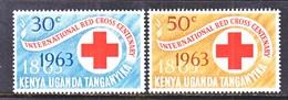 K.U.T.  142-3  **  RED  CROSS - Kenya, Uganda & Tanganyika