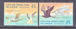 COCOS  ISLANDS  300-01   **  SEA  BIRDS - Cocos (Keeling) Islands