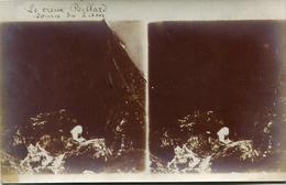 CARTE PHOTO STEREOSCOPIQUE(LA SOURCE DU LISON) - Stereoscope Cards