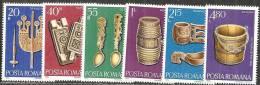 Romania 1978 Nuovo** - Mi.3517/22  Yv.3109/14 - 1948-.... Repubbliche