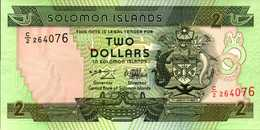 SALOMONS 2 DOLLARS De 1997nd  Pick 18  UNC/NEUF - Salomons
