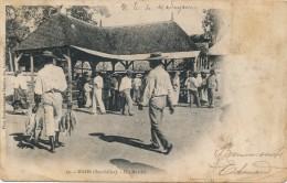 G97 - SEYCHELLES - MAHÉ - Un Marché - Seychelles