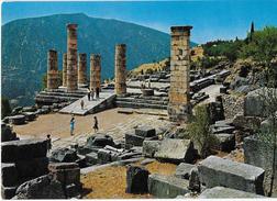 GRECIA - DELPHI - TEMPIO DI APOLLO - NUOVA NV - Grecia