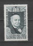 """FRANCE / 1969 / Y&T N° 1592 ** : """"Célébrités"""" (Sainte-Beuve) X 1 - Unused Stamps"""