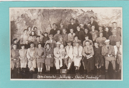 Old/Antique? Postcard Of Demanouske Cave, Temple Of Freedom,Demanouske Jaskyne,Chram Svobody,R27. - Slovakia