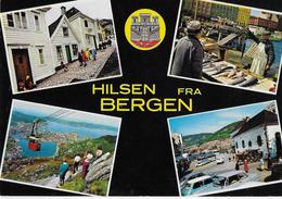 NORVEGIA - BERGEN . VEDUTE DIVERSE - NUOVA NV - Norvegia