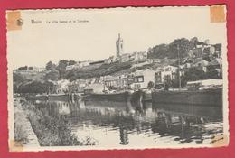 Thuin - La Ville Basse Et La Sambre ... Péniches ( Voir Verso ) - Thuin