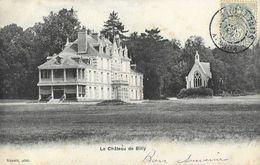 Château De Billy (Seine-et-Oise) - St Saint-Vrain - Chapelle Dans Le Parc - Carte Berger (Neimark, Tabac) - Autres Communes