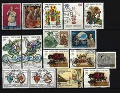 VATIKAN - Briefmarken Lot Gestempelt - Sehr Saubere Stempel - Sammlungen
