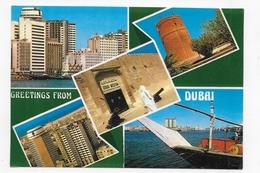EMIRATS ARABES UNIS - N° 26 - DUBAI - MULTIVUES - CPM GF VOYAGEE - Emirats Arabes Unis