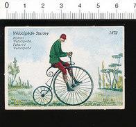 Vélocipède Starley De 1872 / Vélo Bicyclette Ancienne Cycliste Cyclisme Cycle  IM51P4-1 - Sin Clasificación
